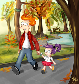 Where are we going_colored by MissFuturama