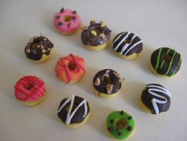 Donut food Clay by ciyou