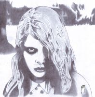 Night of the Living Dead: Karen Cooper by AzrielMordecai