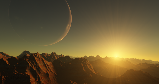 Space Engine - Mass Effect vibes by Rodesu
