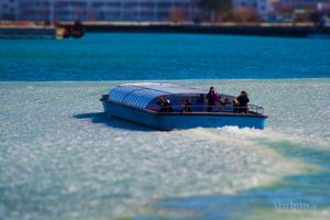 Boat-Trip on Ice with Tilt-Shift by WorldsInWorld