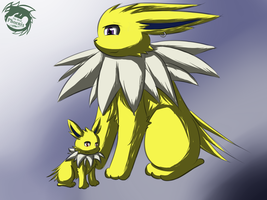 Spark and his son by TheRealPhoenix
