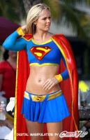 laura vandervoort as supergirl by Chris-V981