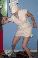 Silent Hill Nurse costume 1 by TeamAquaSuicune