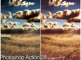 Photoshop Action 28 by saturn-rings