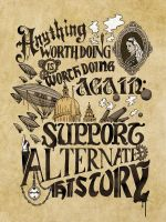 Anything Worth Doing Poster by SKOpseudonym