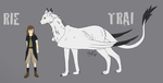 Trai and Rie Reference by Traijin
