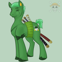 One Piece Pony Project: 002 by Puppet-Rhymes