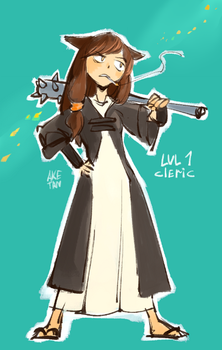 LVL 1 Cleric by aketan