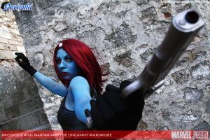 Mystique Cover by BlastXX