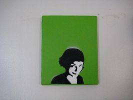 Amelie on canvas by Dng2280