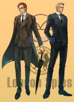 London Spies by Ecthelian