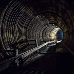 Backlit Tunnel by 5isalive