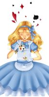 Alice in Wonderland by Sixtine-D