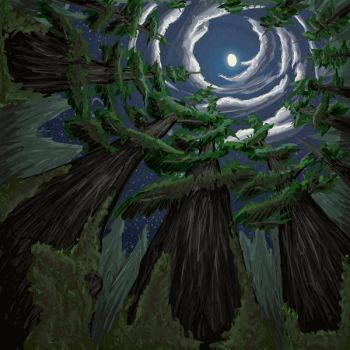 Forest Moon by LindseyErin