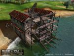 Rise and Fall game building: Roman Dock by TheArtOfSanhueza