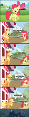 That ain't no apple no how! by bronybyexception