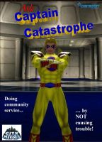Captain Catastrophe - Comic by djmatt2