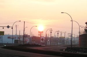 sunrise over 111th Ave by scott-451