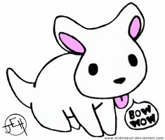 Bow Wow Puppy by Midniteoil-Burning