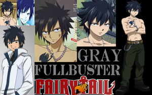 Gray Fullbuster! (wallpaper) by KohakuJSMA