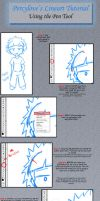 Lineart Tutorial - Pen tool by percylove