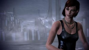 Mass Effect 3 - Female Casual Outfit 4 (Close-Up) by Revan654