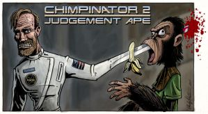 Planet of the Apes-Terminator by andyjhunter