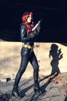 Black Widow Comic Version by NatRomanov