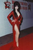 Elvira in red sequins 2 by CaptPatriot2020