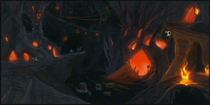 Goblin Abyss - Concept Art by ActionMissiles