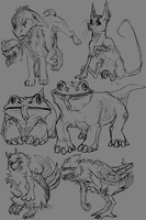 New species sketches by Velkss