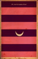 Cheshire Cat minimalist by waitedesigns
