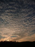 Clouds_Sunset Stock by Melyssah6-Stock
