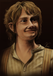 Bilbo Baggins coloured by TinaTurtle