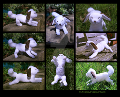 Plushie: Akamaru from NARUTO by Avanii