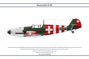 Bf 109 E-3 Switzerland 1 by WS-Clave