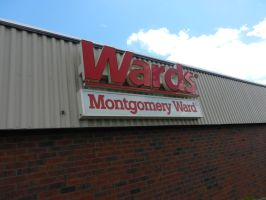 Wards/Montgomery Ward logo signage by dth1971