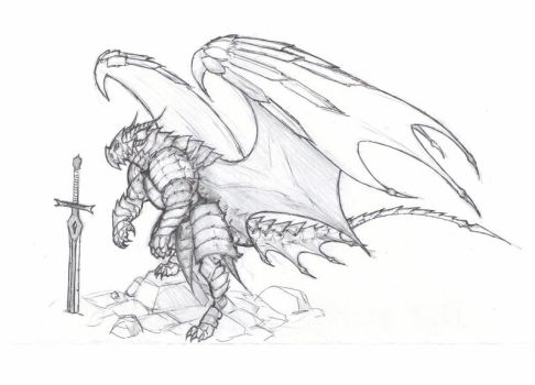 Dragon-knight by krigg