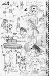 Planner Note Book Doodles by Cane-McKeyton