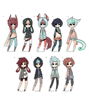 Male Adopt Set -Taken- by Voodoo-Elf