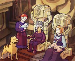 Dragon Age: The Royal Family of Orzamarr by sqbr