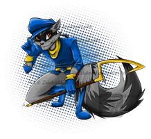+Sly Cooper+ by ZelukreH
