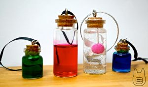 Zelda Fairy + Potion Bottles (Tutorial) by studioofmm