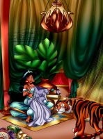 the Princess's hobby room by selinmarsou