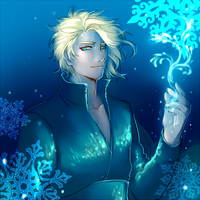 King Elsa by hyperion1224