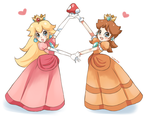 We're Peach and Daisy... by Fumuu