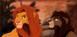 Simba and Rudo by SickRogue
