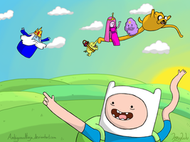 Adventure Time! by AmbiguousNinja