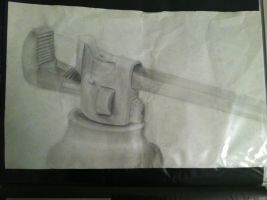 Wrench (finished) by Cafante